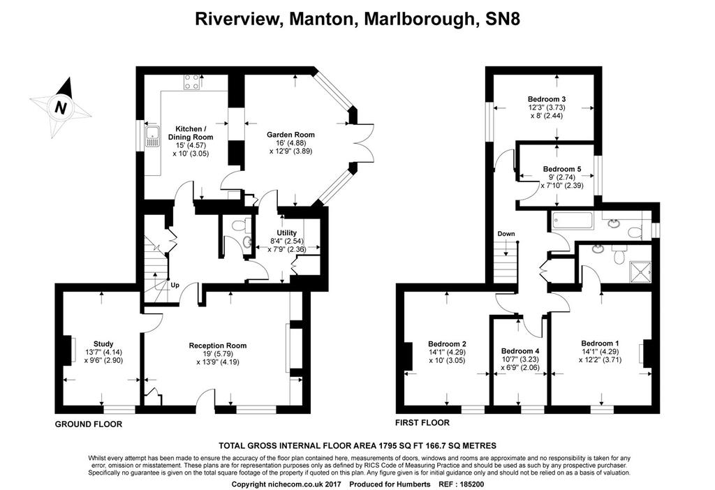 Riverview manton marlborough wiltshire 5 bed terraced for Marlborough house floor plan