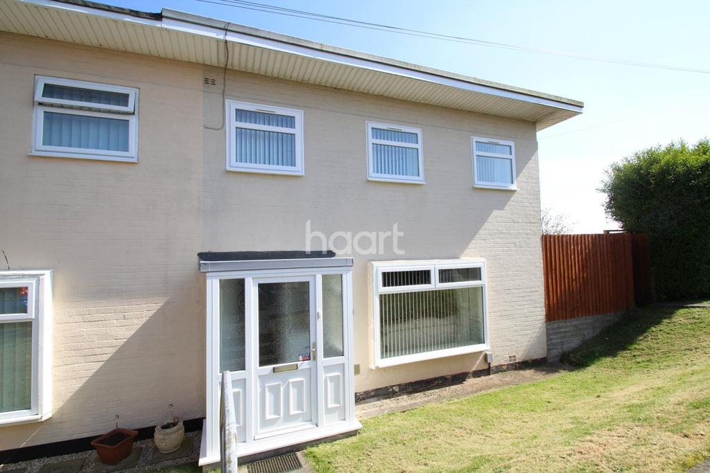 3 Bedrooms End Of Terrace House for sale in Macauley Gardens, The Gaer, Newport