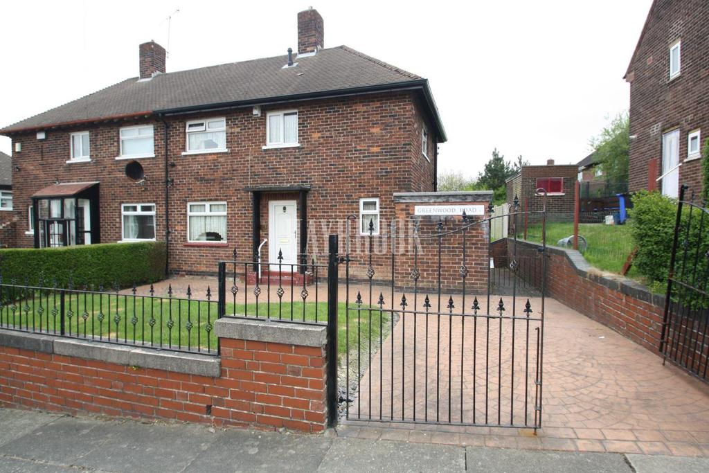 2 Bedrooms Semi Detached House for sale in Greenwood Road, Littledale, S9