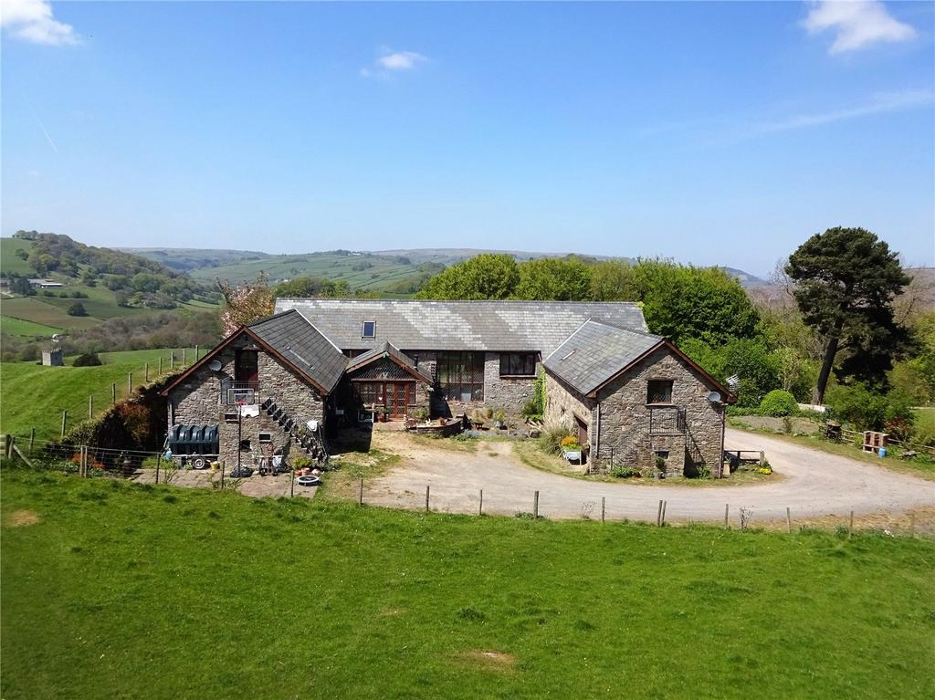 4 Bedrooms Barn Conversion Character Property for sale in Crickadarn, Erwood, Builth Wells, Powys