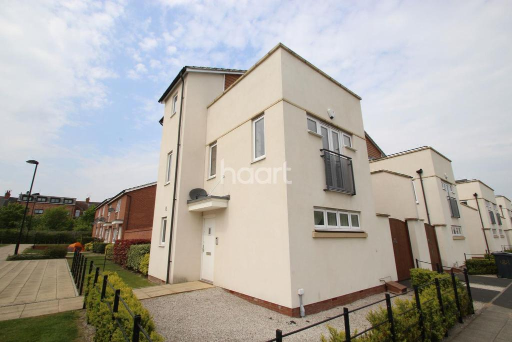 3 Bedrooms Detached House for sale in Watkin Road, Freemans Meadow, Leicester