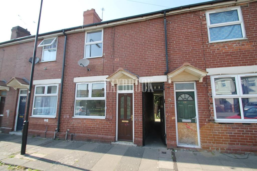 2 Bedrooms Terraced House for sale in Lindley Street, Eastwood