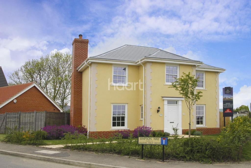 4 Bedrooms Detached House for sale in Simpson Way, Barrow, Bury St Edmunds