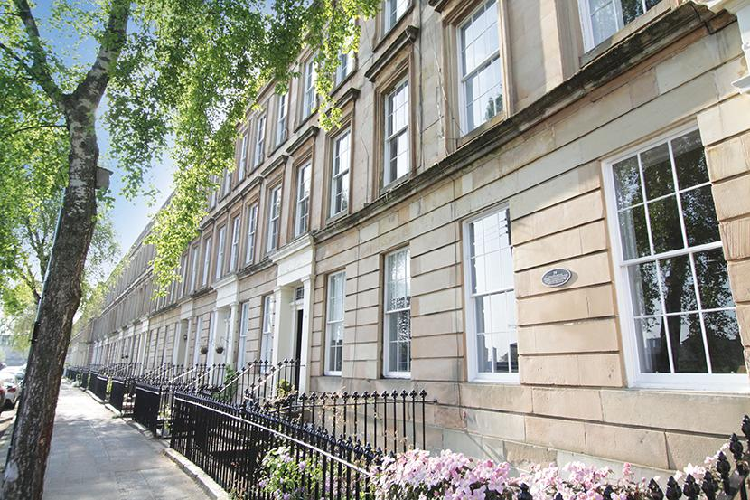 2 Bedrooms Flat for sale in 40a St Vincent Crescent, Finnieston, G3 8NG