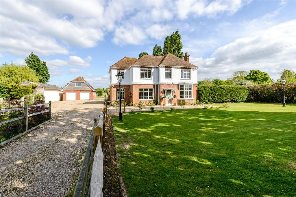 5 Bedrooms Detached House for sale in Drift Lane, Bosham, Chichester, West Sussex