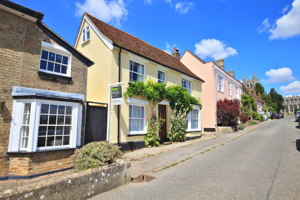 3 Bedrooms Detached House for sale in Church Walk, Long Melford,CO10 9DN