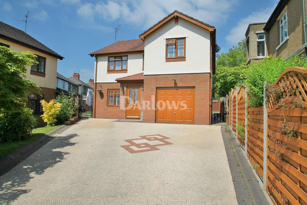 4 Bedrooms Detached House for sale in Thomas Davies Court, Rumney, Cardiff