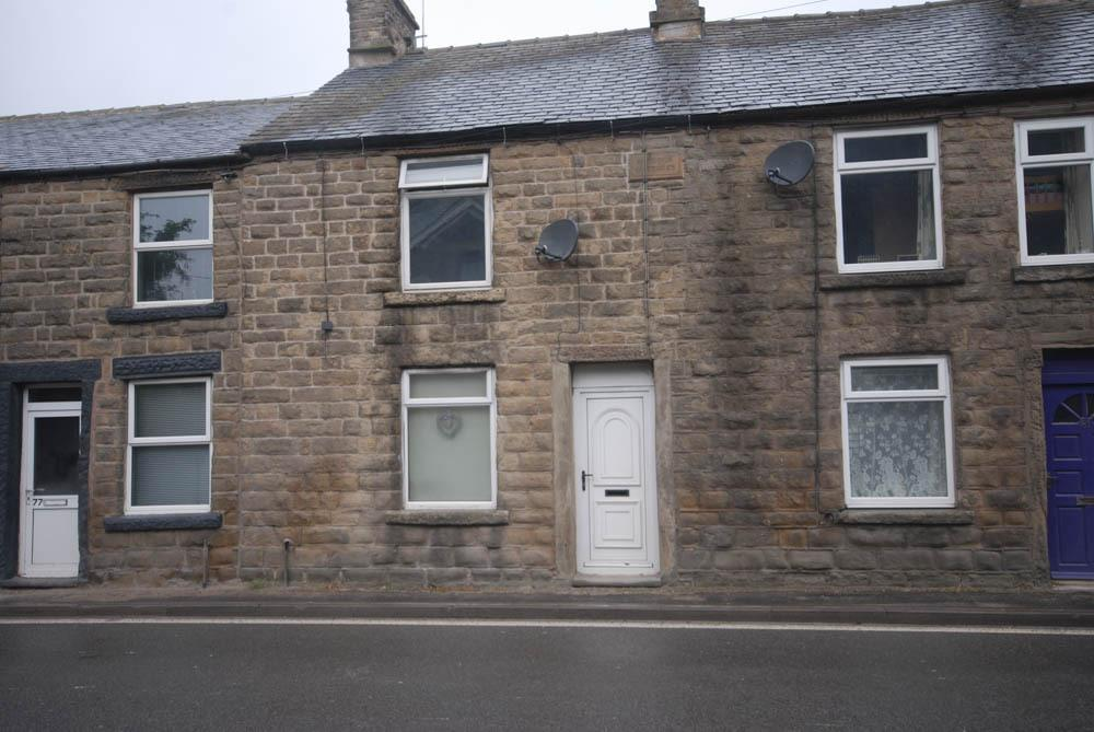 2 Bedrooms Terraced House for sale in Halsteads, Dove Holes