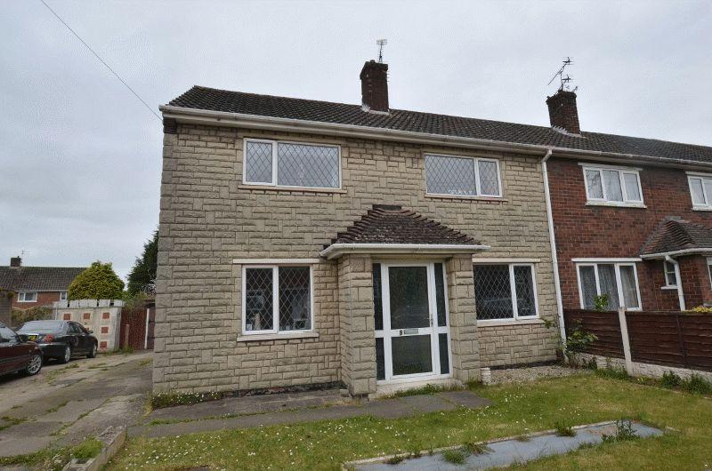 3 Bedrooms End Of Terrace House for sale in Salmonby Road, Scunthorpe