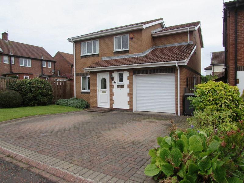 4 Bedrooms Detached House for sale in Stamfordham Close, Wallsend - Four Bedroom, Detached House