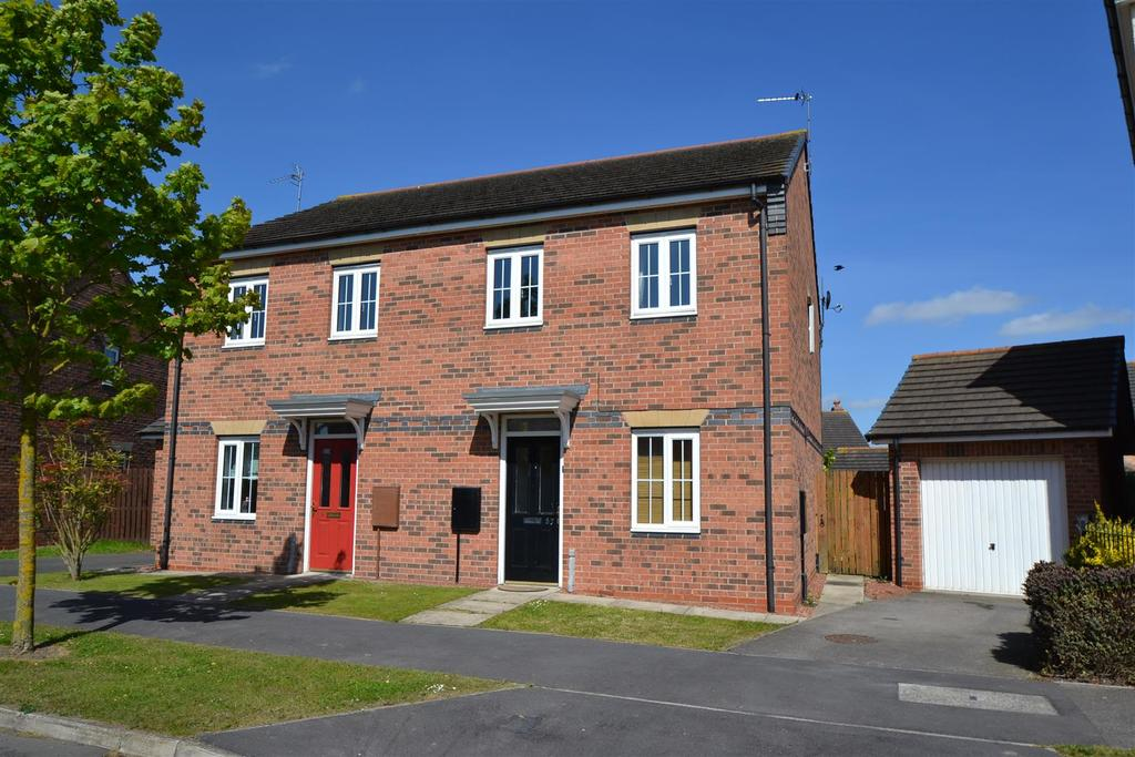 3 Bedrooms Semi Detached House for sale in Studley Drive, Spennymoor