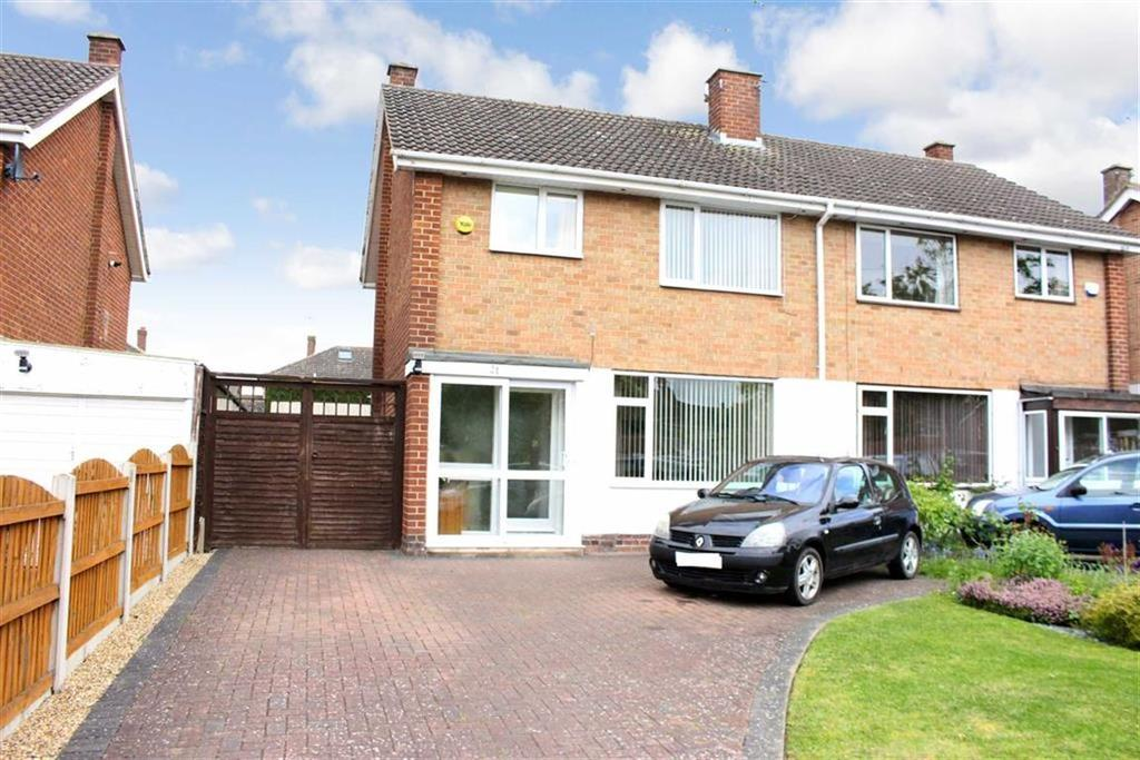 3 Bedrooms Semi Detached House for sale in Parklands Avenue, Lillington, Leamington Spa, CV32