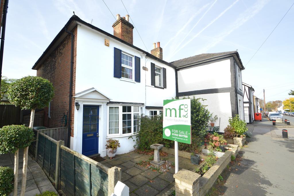 2 Bedrooms Cottage House for sale in St Marys Road, Weybridge, Surrey, KT13