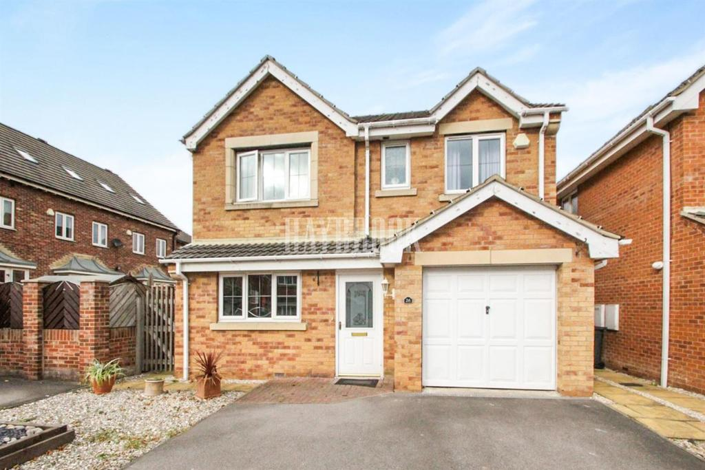 4 Bedrooms Detached House for sale in Hazelwood, Monk Bretton