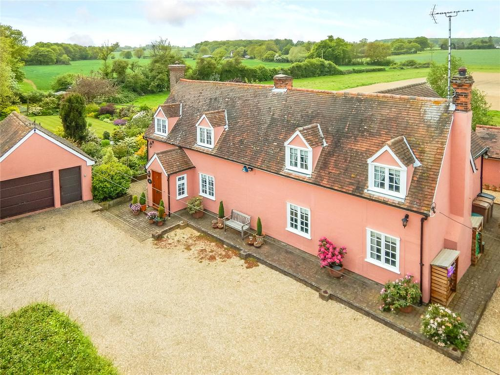 4 Bedrooms Detached House for sale in Noakes Lane, Little Waltham, Chelmsford, Essex