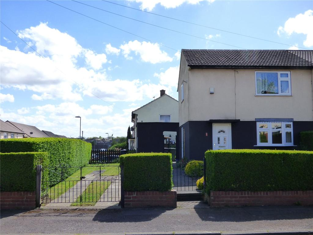 2 Bedrooms Semi Detached House for sale in Foldings Parade, Scholes, Cleckheaton, BD19
