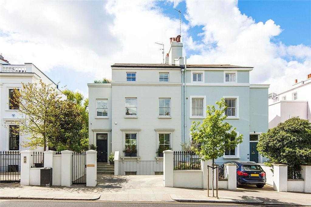 5 Bedrooms Semi Detached House for sale in Clarendon Road, Notting Hill, London, W11