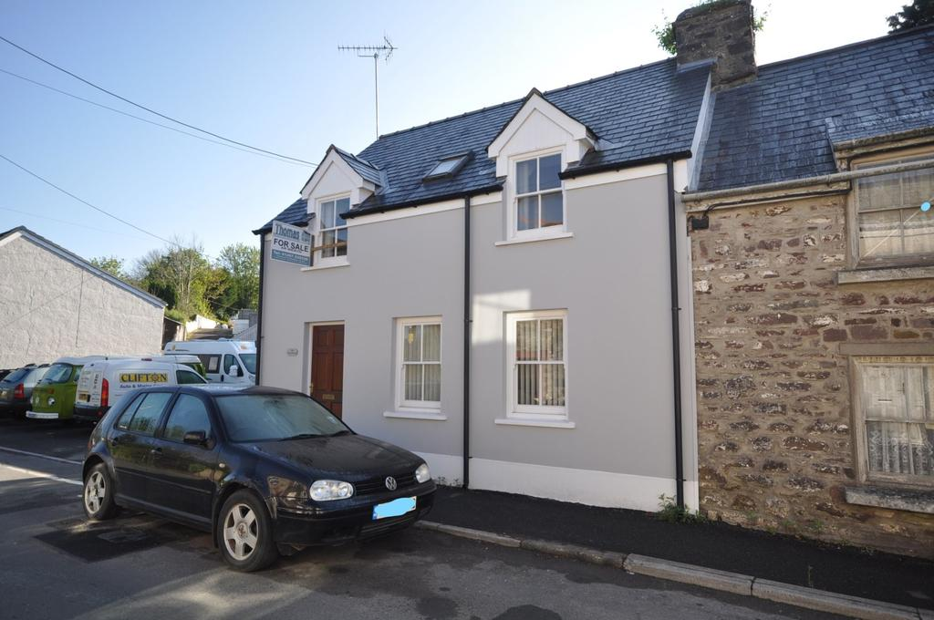 3 Bedrooms End Of Terrace House for sale in The Showroom, Clifton Street, Laugharne, SA33 4QG