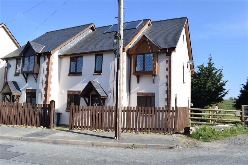 5 Bedrooms Semi Detached House for sale in 3, Ti'r Grasau, Adfa, Newtown, Powys, SY16