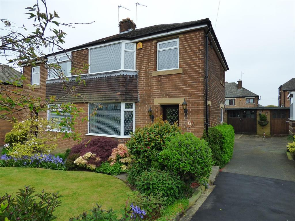 3 Bedrooms Semi Detached House for sale in Moorside Gardens, Eccleshill, Bradford, BD2 3RE