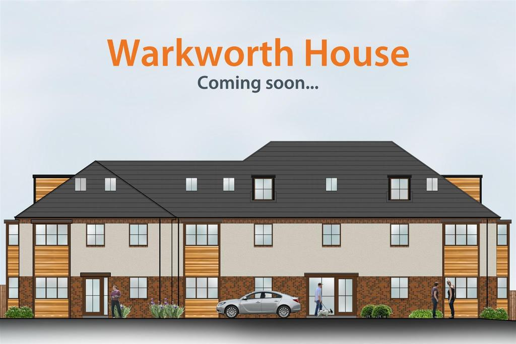 2 Bedrooms Apartment Flat for sale in Warkworth House, Wideopen, Newcastle Upon Tyne