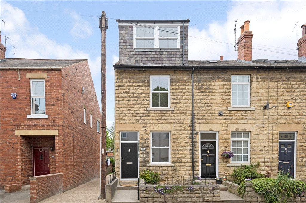 St james street wetherby west yorkshire 3 bed end of for Terrace elevation
