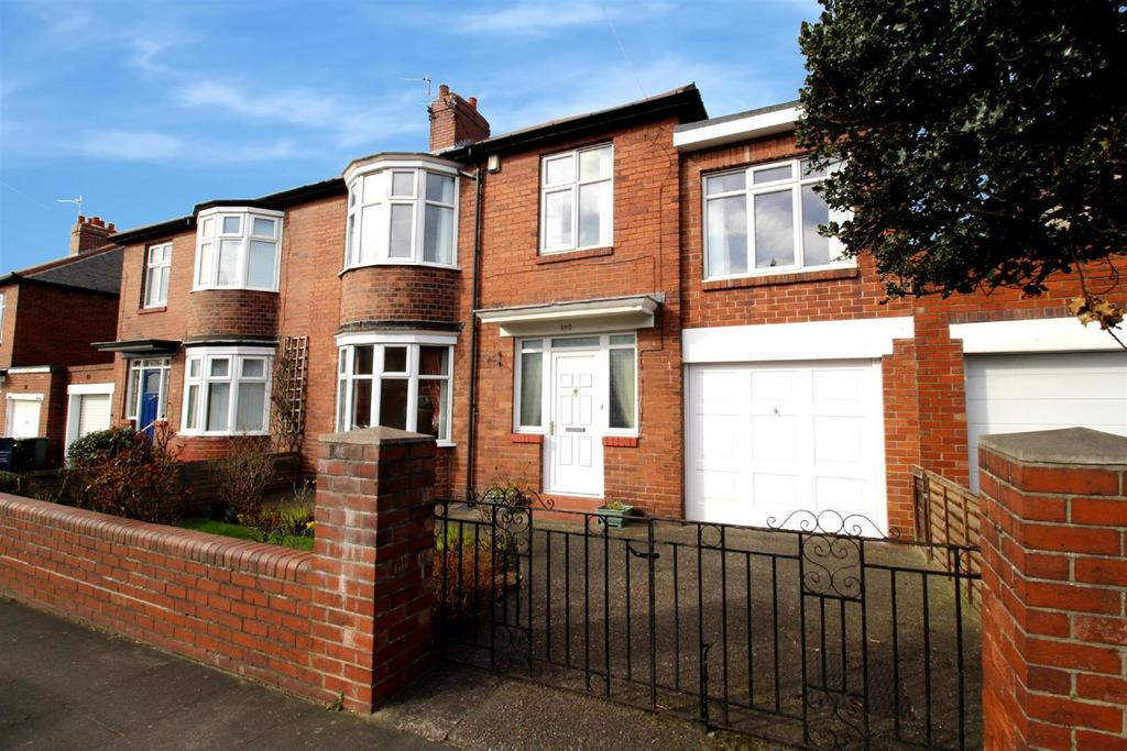 4 Bedrooms Semi Detached House for sale in Newton Road, High Heaton, Newcastle Upon Tyne