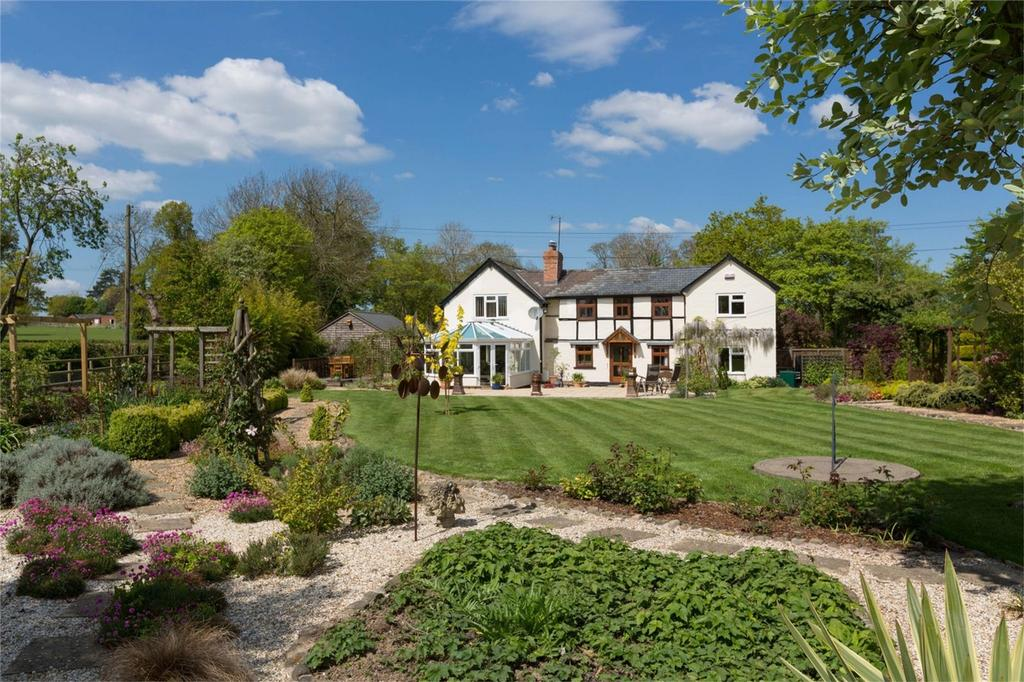 4 Bedrooms Country House Character Property for sale in Pool Cottage, Bearwood, Leominster, Herefordshire