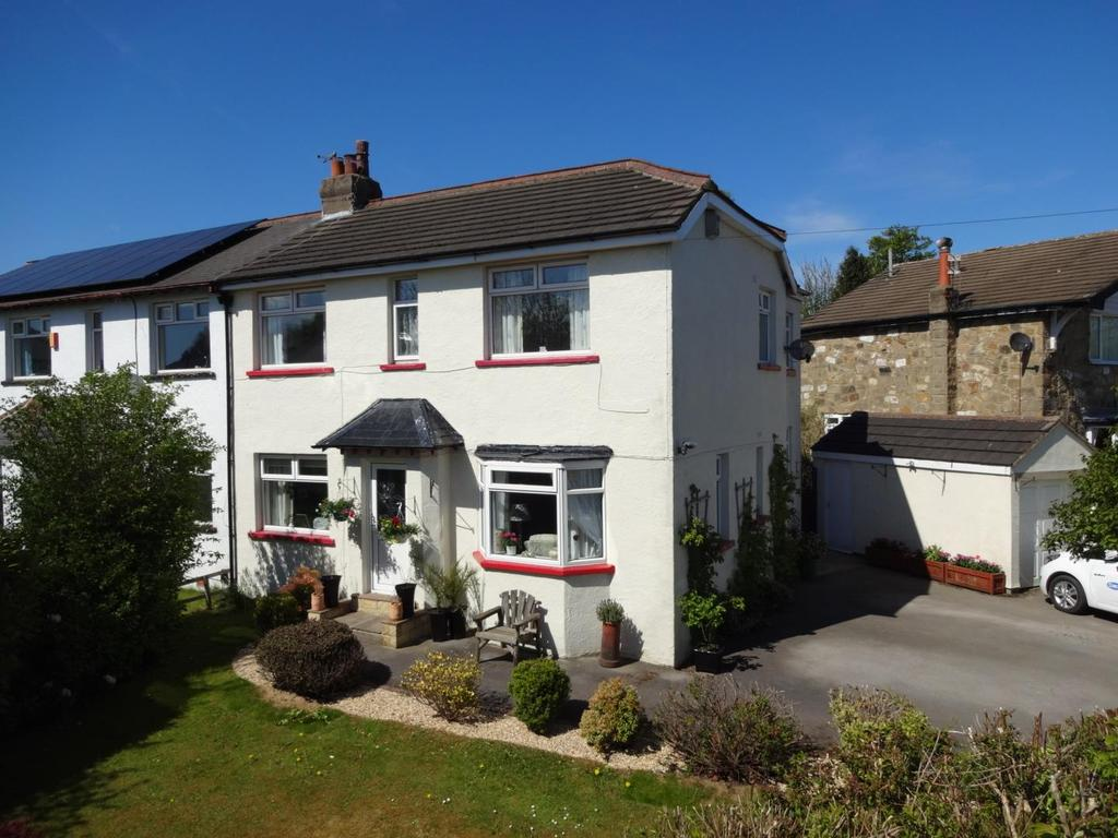 4 Bedrooms Semi Detached House for sale in Larkfield Road, Rawdon, Leeds