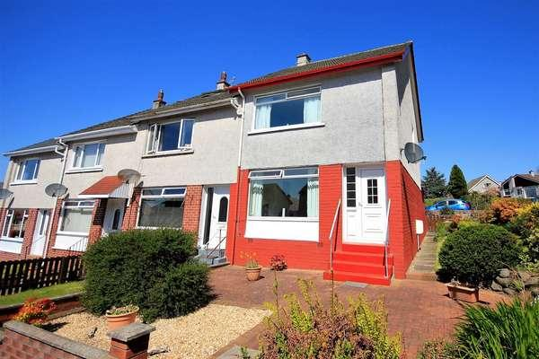 3 Bedrooms End Of Terrace House for sale in 7 Woodcroft Avenue, Largs, KA30 9EW