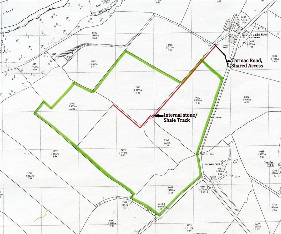 Land Commercial for sale in Approx. 29 Acres Land near Ty Hen, Sarnau, Llandysul, Ceredigion