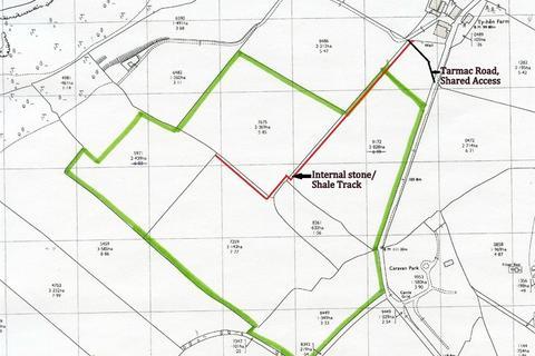 Land for sale - Approx. 29 Acres Land near Ty Hen, Sarnau, Llandysul, Ceredigion