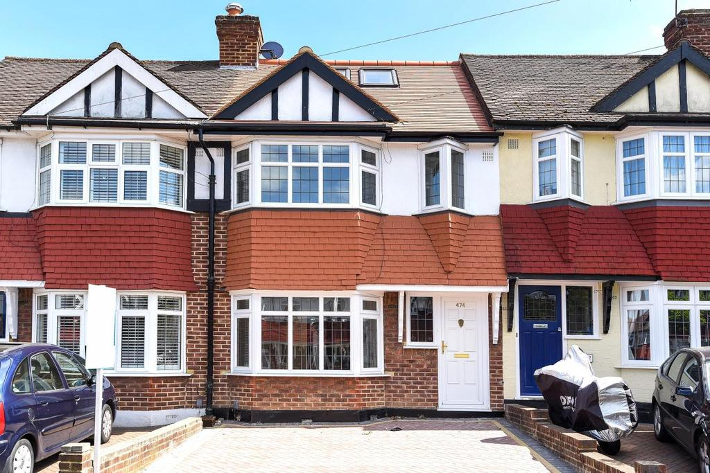 3 Bedrooms Terraced House for sale in Lynmouth Avenue, Lower Morden, SM4