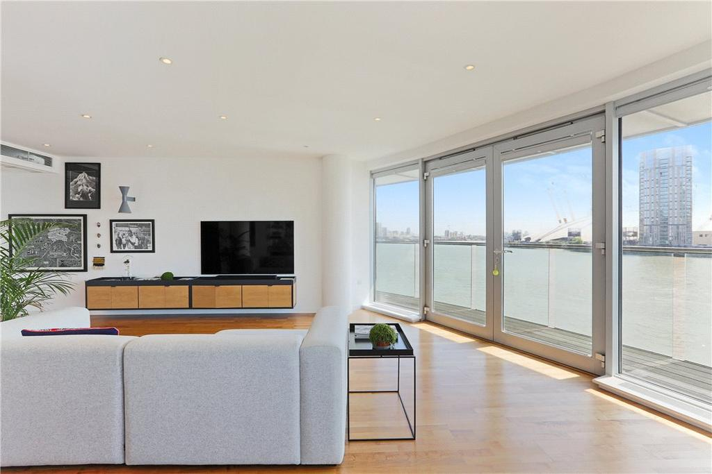 2 Bedrooms Flat for sale in New Providence Wharf, 1 Fairmont Avenue, Isle of Dogs, London, E14