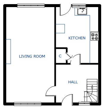 3776241 as well 5ad3de0372c426e2 Small 1 Bedroom House Plans Small House Plans 3 Bedrooms further 2004 2007 nissan armada front door panel removal procedure besides Architectural drawing additionally Plan For 30 Feet By 30 Feet Plot  Plot Size 100 Square Yards  Plan Code 1305. on houses from front view