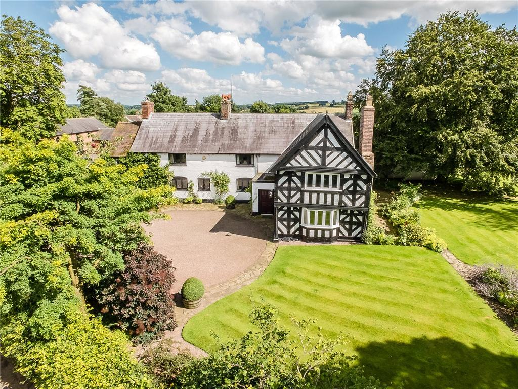 5 Bedrooms Detached House for sale in Knighton, Shropshire