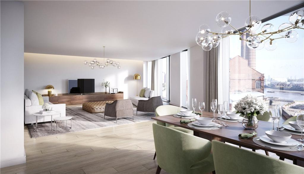 3 Bedrooms Apartment Flat for sale in Chelsea Island, Harbour Avenue, London, SW10