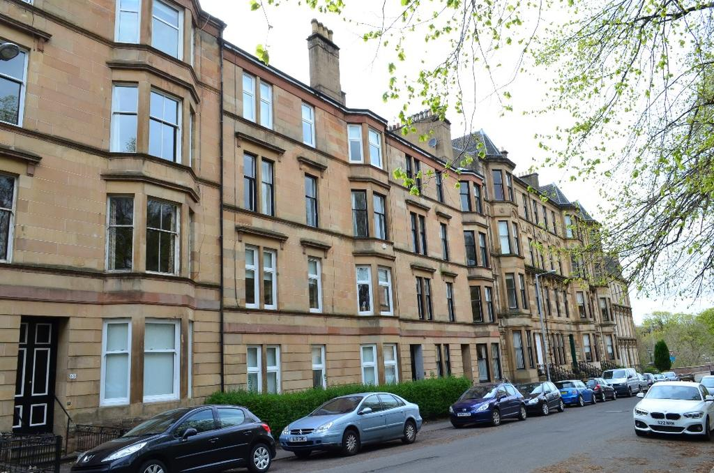 4 Bedrooms Flat for sale in Clouston Street, Flat 3/1, North Kelvinside, Glasgow, G20 8QW