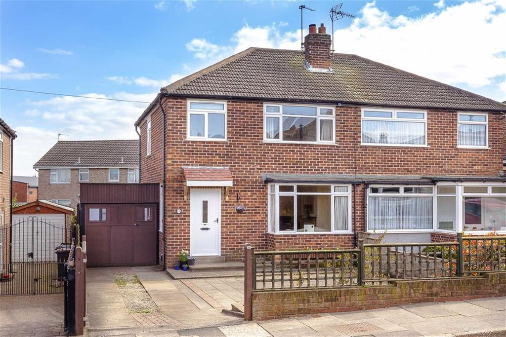 3 Bedrooms Semi Detached House for sale in Kingsley Park Road, Harrogate, North Yorkshire