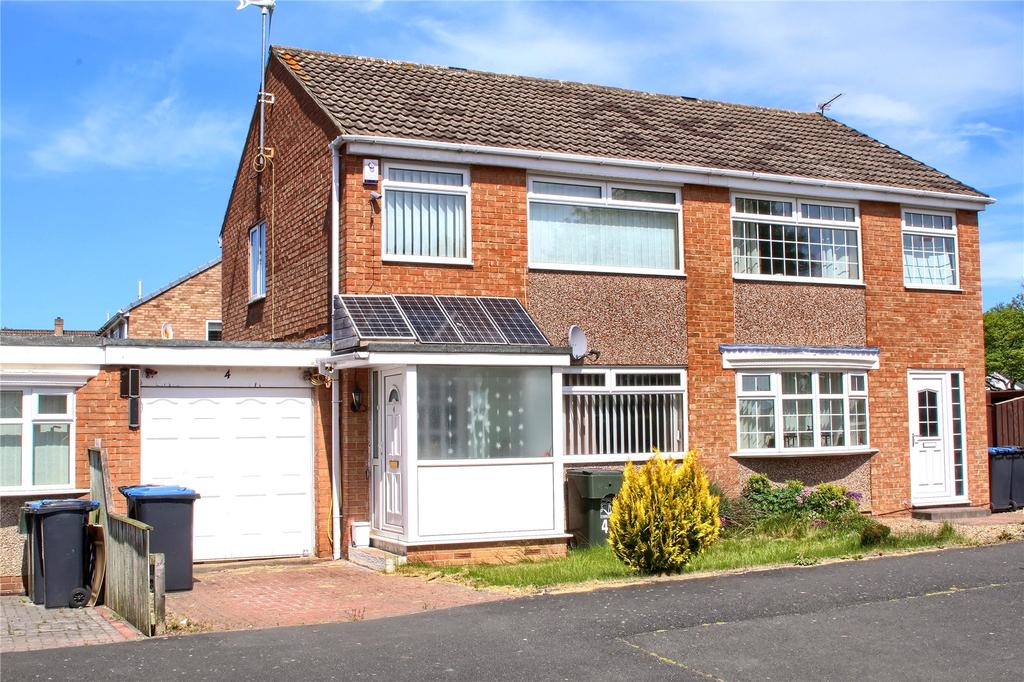 3 Bedrooms Semi Detached House for sale in Avalon Court, Hemlington