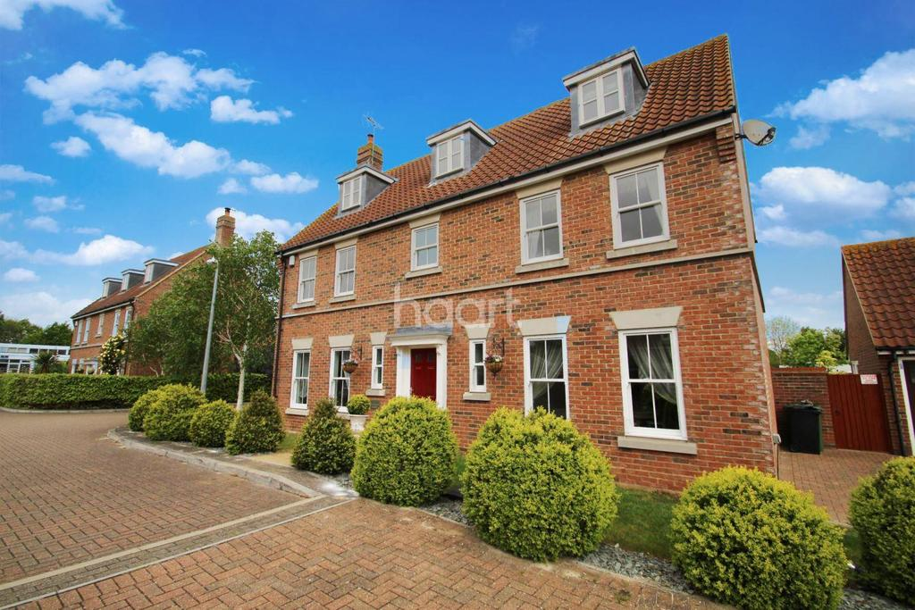 5 Bedrooms Detached House for sale in Vicarage Court, Southminster