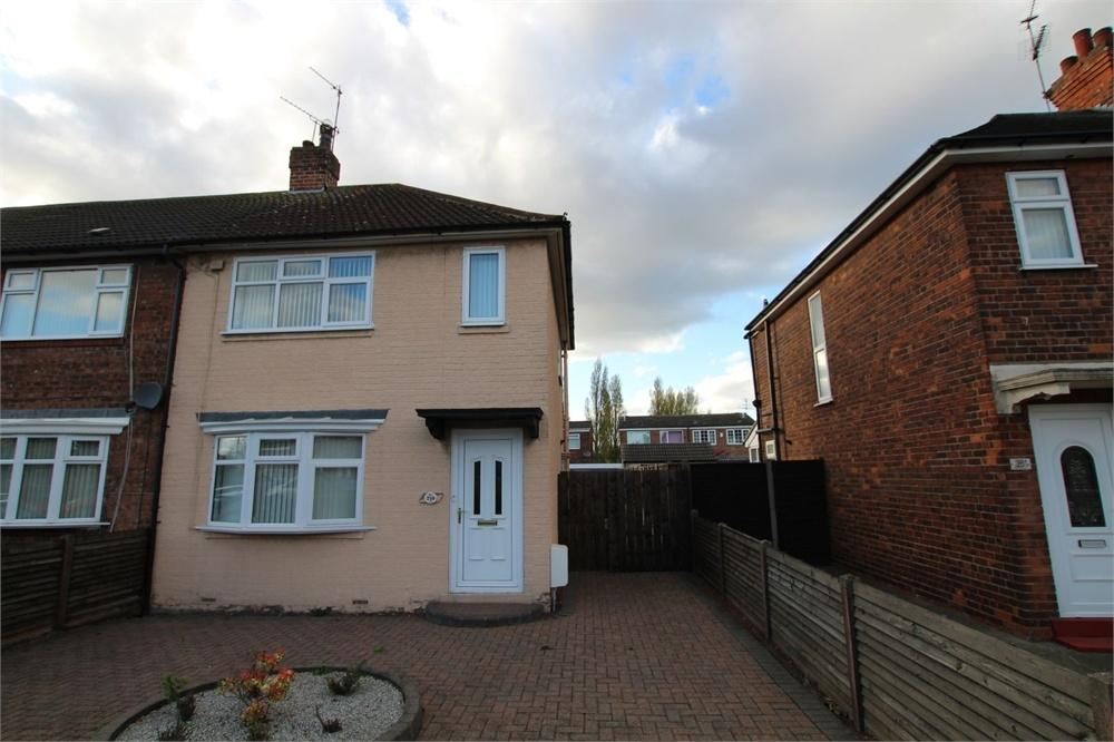 2 Bedrooms Semi Detached House for sale in James Reckitt Avenue, HULL, East Riding of Yorkshire
