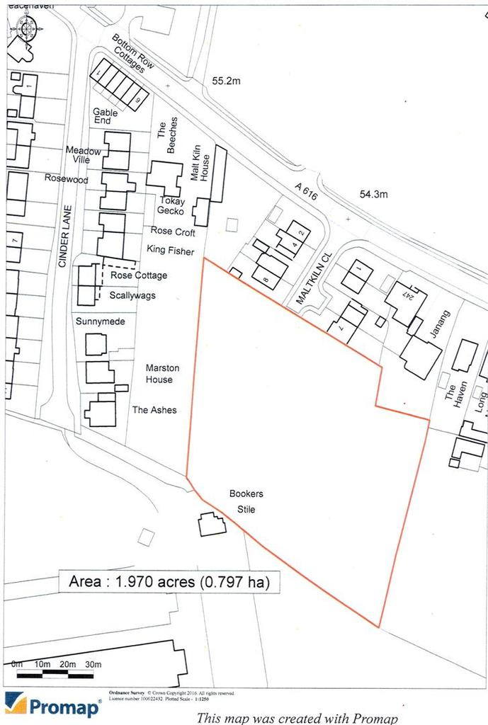 Land Commercial for sale in Wellow Road, Ollerton, Newark