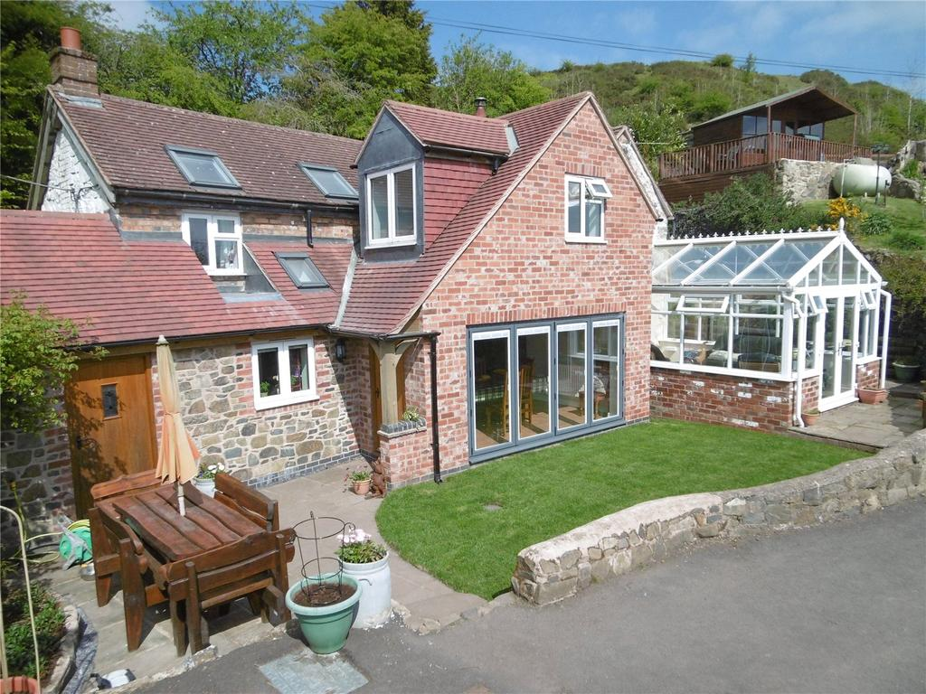 3 Bedrooms Detached House for sale in Lineside Cottage, Clee Hill, Ludlow, Shropshire