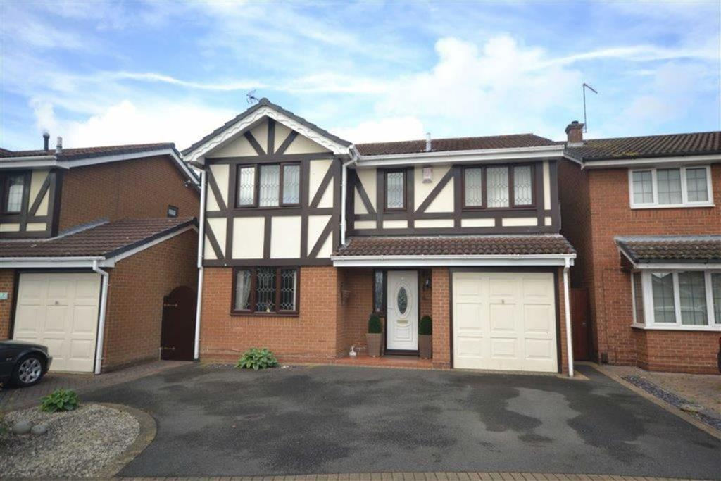 4 Bedrooms Detached House for sale in Newlyn Close, Horeston Grange, Nuneaton