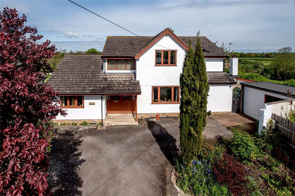 4 Bedrooms Detached House for sale in Ham, Creech St Michael, Taunton