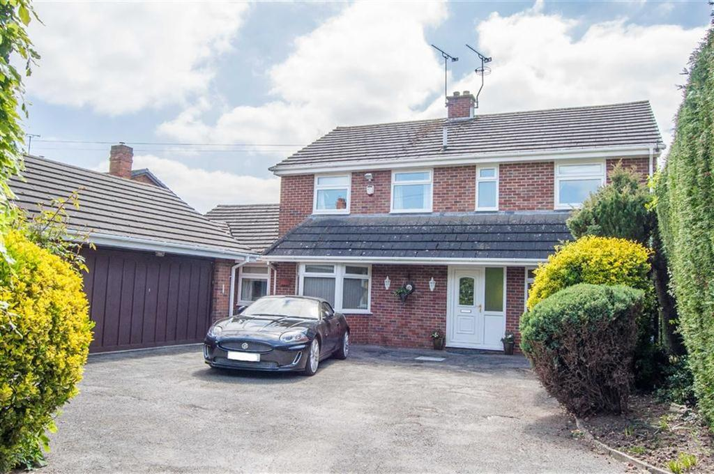 5 Bedrooms Detached House for sale in Station Road, Rossett, Wrexham, Wrexham