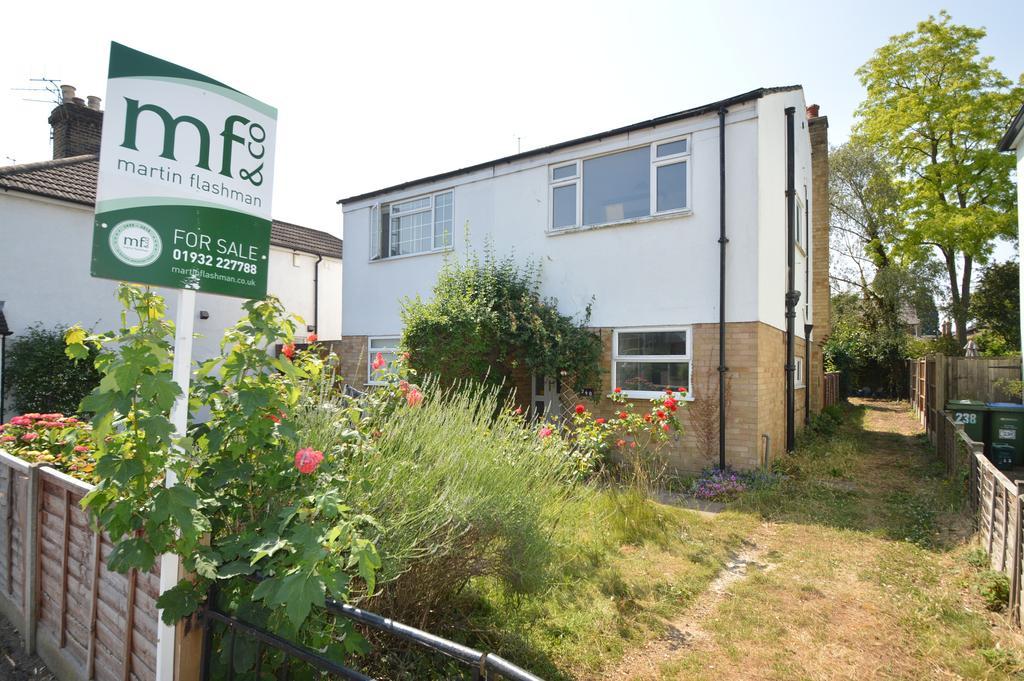 2 Bedrooms Semi Detached House for sale in HERSHAM ROAD, WALTON ON THAMES KT12