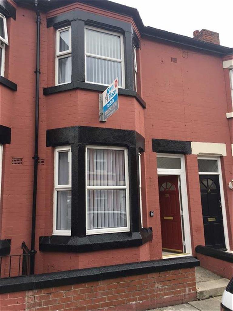 Terraced House for sale in Harcourt Street, Birkenhead, Wirral