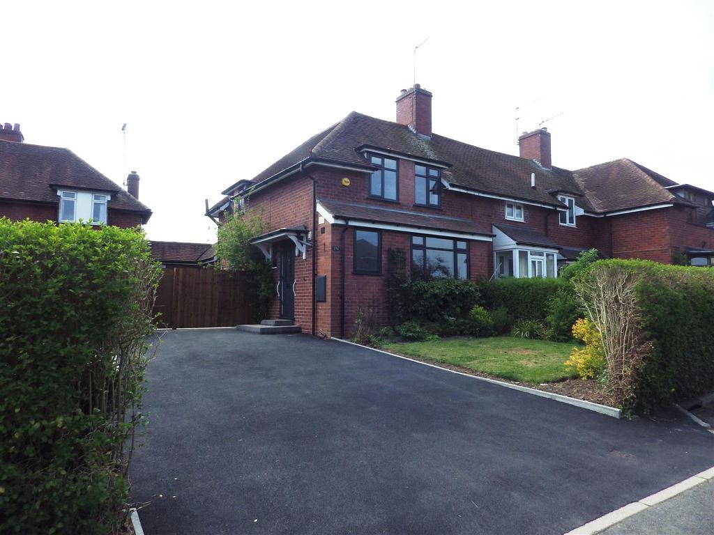 3 Bedrooms Semi Detached House for sale in Bromsgrove Road, Hunnington, Halesowen